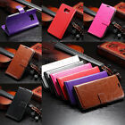 Luxury Flip PU Leather Card Skin Cover Case Wallet For Samsung Galaxy S6/S6 egde