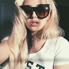 Wolves Sunglasses Retro Plastic Large Frame Fashion Women  Round Shades