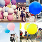 "New 36"" Giant Big Ballon Latex Birthday Wedding Party Helium Decoration 9 Color"