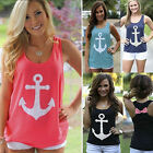 Fashion Womens Cute Summer Vest Top Sleeveless Blouse Casual Tank Tops T-Shirts