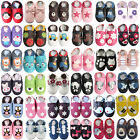 carozoo UK new leather soft sole baby shoes toddler slippers up to 4 YRS newborn
