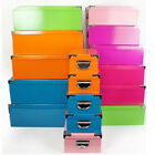 STORAGE BOX CHEST GIFT BEDROOM ORGANISER TOYS NEW BOXES BOOKS SHOE UNIT HANDLE