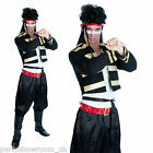 1980s New Romantic Adult's Men's Adam Ant Fancy Dress Party Halloween Costume PS