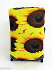 SUNFLOWERS DESIGN SUITCASE COVER EASILY IDENTIFY YOUR CASE ON THE CAROUSEL
