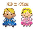 80cm Angel Christian Boy Girl Foil Balloon Decorations Baby Shower Party Supply