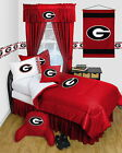 Georgia Bulldogs Comforter Bedskirt Sham Pillowcase Twin Full Queen Size