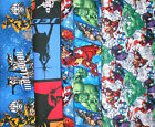SUPER HEROS #13 Fabrics, Sold Individually, Not As a Group, By The Half Yard