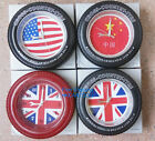 Fashion Flag Tire Clock Cross Country Tyre Alarm Clock Plastic Wall Clock
