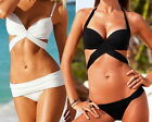 2015 Beachwear Women's Bandage Halter Triangle Bikini Push-Up Swimsuit Swimwear