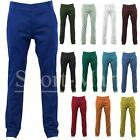 Mens Kushiro City Slim Fit Chino Trousers Summer Pants Jeans Waist Size