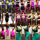 Women Stretchy Cocktail Club Evening Party Tight Slim Bodycon Bandage Dress AD