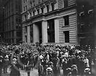 1906 Curb Brokers Wall Street Broad Exchange Stock Market Photo