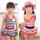 NWT Girls Baby Sailor Swimwear Swimsuit Bathers Bikini Tankini Flowers 2-7Y