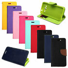 Flip Card Colors Deluxe Wallet Leather TPU Case Stand For Samsung Galaxy Phone