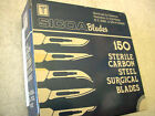 (150) SICOA #20 Carbon Steel Surgical Blades Individually Wrapped