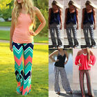 Hot Women's Casual Stretch Pants Sport Yoga Long Bohemian Loose Palazzo Trousers