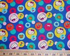 HELLO KITTY  #8 Fabrics,  Sold Individually,  Not As a Group,  By The Half Yard