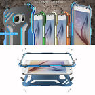 Sports R-JUST Metal Case Shockproof For Samsung Galaxy S6 S6 Edge 4 Colors New