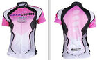 Women's Cycling Bicycle Bike Outdoor Sports Short Sleeve Shirt Jersey Size S-XL