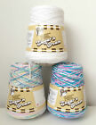 LILY SUGAR N CREAM SOLIDS & OMBRE ARAN KNITTING CROCHET COTTON YARN 400g CONE