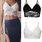 Womens Ladies Sexy Lace Strappy Vest Bralet Bra Crop Top Party Camisole Tank Top