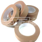 25mm 38mm 50mm x 50m ECO BROWN SELF ADHESIVE KRAFT PRICTURE FRAMING PAPER TAPE