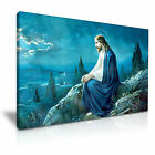 JESUS Prayer of Jesus Religious Catholic Canvas Wall Art Picture Print ~ More Si
