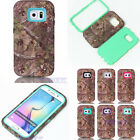Jungle Style ShockProof Hybrid Phone Case Cover For Samsung Galaxy S6 & S6 Edge