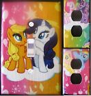 MY LITTLE PONY custom Light Switch, outlets and wall plate covers kids decor