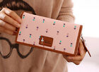 TB fashion women long purse clutch wallet high quality zip bag card holder CA