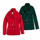 Womens Jacket Brave Soul Fern Ladies Quilted Padded Belted Zip Up Coat