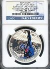 2015 Canada S$20 Superman Unchained #2 Colorized E.R. NGC PF70 U.C. (BLUE)