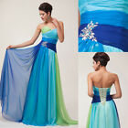 Women Ladies Wedding Bridesmaid Formal Evening Prom Dress PLUS SIZE 20 22 24 26