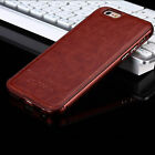 Luxury Aircraft Aluminum Leather Phone Case Cover For iPhone 5 iPhone 6 6 Plus on Rummage