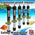 Aquarium Fish Water Tank Heater 25/50/100/ 200/300W For Thermostat Submersible