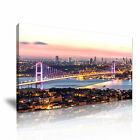 TURKEY Bosphorus Bridge Istanbul Canvas Wall Art Picture Print ~ 9 Size