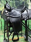 "TT102BK FLEXIBLE TREE HILASON WESTERN TRAIL PLEASURE SADDLE 15"" 16"" 17"" 18"""