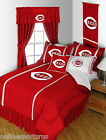 Cincinnati Reds Comforter and Sheet Set Twin Full Queen King Size