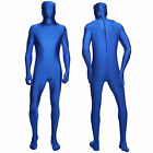 Second Skin Unisex Full Body Suit Costume Unitard Lycra Spandex Zentai Bodysuit