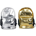 Fashion Women Men Pu Leather Glitter Backpack School Shoulder Bag New Rucksacks