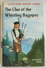 Nancy Drew #41 THE CLUE OF THE WHISTLING BAGPIPES 2d Print Vintage Carolyn Keene