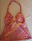PERRY ELLIS XS S or M Swim Halter Tankini Swimsuit Top Choice Swimwear NWT