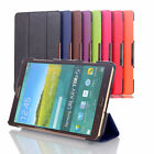 "SMART THIN LEATHER CASE COVER FOR SAMSUNG GALAXY  8"" 10"" TABLETS  2015"