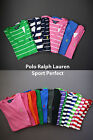 Polo Ralph Lauren WOMENS V-NECK COTTON SPORT PERFECT Short Sleeve Pony T-Shirt