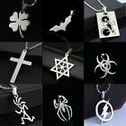 Unisex's Fashion Pendant Necklace Chain Stainless Steel Necklace Jewelry