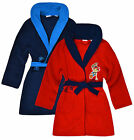 Boys Official Jake And The Neverland Pirates Dressing Gown New Ages 3-6 Years