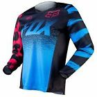 Fox Racing Womens 180 JERSEY BLUE/RED