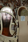 Pediconfort Ladies Leather Upper Strappy Sandals Size 4 5 Beige Holiday BNWOB