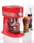 Commercial Shaved Ice Machine Shaver / Snow Cone Maker Nostalgia Electrics COKE ..