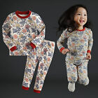 "Vaenait Baby Infant Toddler Kids Girls Clothes  Pyjama Set ""Red Garden"" 12M-7T"
